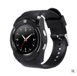 Wholesale Christmas Email - 2017 Newest Smart Watch A10 SmartWatch waterproof Bluetooth Android system For Iphone smart watches Christmas gifts Smart Clock