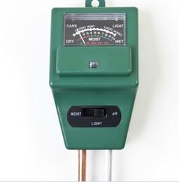 ph misuratore di conducibilità Sconti Misuratore di pH di umidità del suolo per acqua di alta qualità per misuratore di luce 3 in 1