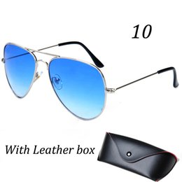Wholesale Cheap Purple Coats - Wholesale Summer Coating Fashion Sunglasses Women & Men Top Popular Designer Classic Unisex Sun Glasses 11 Colors Cheap Top Quality Sunglass