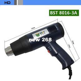 Wholesale Thermostat Gun - BEST BST 8016-3A Lead-free Heat Gun Handheld Hot air Gun Thermostat Shrink film 1600W