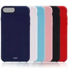 Wholesale I Phone Back Covers - For iPhone 7 4.7 inch Matte Soft Case TPU Silicone Phone Back Cover for iPhone7 i Phone7 i7 Cases