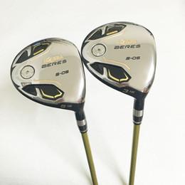 Wholesale beres golf clubs - New Golf clubs honma BERES S-05 Golf fairway wood 3 15 5 18 loft wood clubs Graphite shaft R or S flex Freeshipping