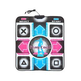 Wholesale Dance Pad Dancing Mat - HD Non-Slip Dancing Step Dance Mat Pad Pads Dancer Blanket Fitness Equipment Revolution Foot Print Mat to PC with USB New