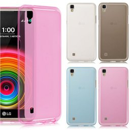 Wholesale Cam Cover - For LG X cam Screen Power Style Stylus2 Xcam Matte skin Clear Crystal Soft TPU Gel Jelly back cover case 50pcs 100pcs 200pcs