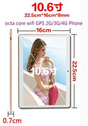 Wholesale Dual Sim Card Holder - 10.6 inch wifi tablet, android 8 core processors, IPS screen2560*1600 4G + 64GB storage,2G 3G 4GPhone, dual SIM card, call 64GB memory card