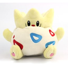 Wholesale Japanese Dolls Videos - 20cm Pocket Monster TOGEPI Cute Stuffed Plush Toys Soft Doll Toy Rare New L Japanese Anime Gift For Baby Kids Christmas Present