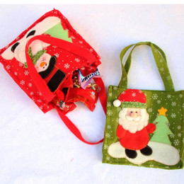 Wholesale Holiday Wrapping Paper - Christmas Snowman Santa Claus Candy Gift bag Treat Bags Kids Present Wrap favors Bag party Holiday decor Gift Wrap event festive supplies