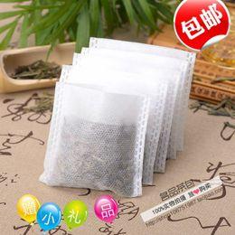 Wholesale Shipping Plastic Woven Bags - Shipping 6.5x7cm trumpet reflexed tea bag non-woven fabric filter tea bag tea bag bag