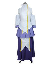 Wholesale Anime Gundam - Gundam Seed Cosplay Lacus Clyne Costume