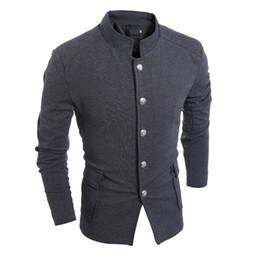 Wholesale Mens Black Suede Jacket Xl - Wholesale-2016 Customized Vintage Button Down Blazer Jacket Mens Casual Black Suede Blazers XXL Famous British Style Jackets Summer S1226