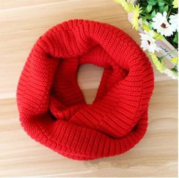 Wholesale Cheap Gold Ring For Women - Hot Winter Scarf Men Women Warm Infinity Scarfs for Women Long Scarf Neckerchief Cheap Scarves Knitted Scarf Plain Scarves