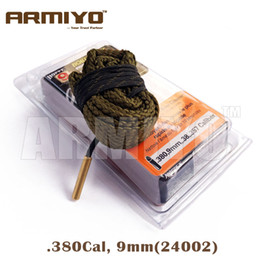 Wholesale Bore Snake Cleaner - Armiyo Bore Snake .380 9mm .38 .357 Cal Pistol Gun Cleaner Barrel Cleaning Rope 24002 Hunting