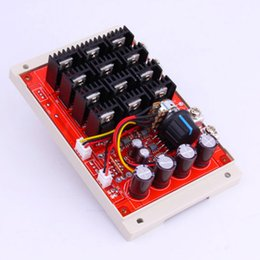 Wholesale Hho Motors - Wholesale-Cheap Sale DC 10-50V 60A Motor Speed Control PWM HHO RC Controller 12V 24V 48V 3000W MAX