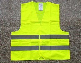 Wholesale Traffic Vests - High Visibility Working Safety Construction Vest clothing warning Reflective traffic working Vest Reflective Safety Clothing waistcoat green