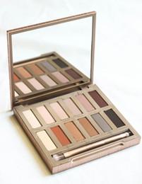 Wholesale Ultimate Size - HOT Makeup ULTIMATE BASICS Lidschatten matte Farben Matte Eye Shadow 12 Color Palette DHL free shipping+GIFT