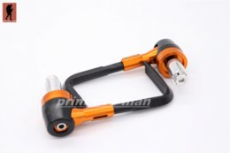 "Wholesale Ktm Brake Lever - Aluminum&ABS Protector Handlebar 7 8"" 22mm Brake Clutch Levers Protect Guard For KTM 125 200 390 DUKE"