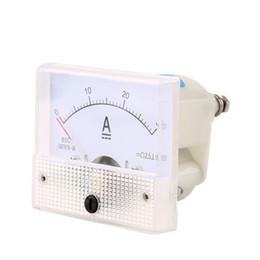 Argentina Al por mayor-DC 30A Amperímetro Analógico AMP Medidor de corriente 0-30A DC no necesita oferta Shunt Stock supplier dc amps meter Suministro