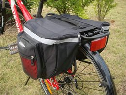 Wholesale Cycle Pannier Bags - New 2016 Cycling Bicycle Accessories Waterproof Saddle Bag Duffle Bicycle Bag Rear Bike Pannier Bicycle Bags Cycling Bicycle Bag