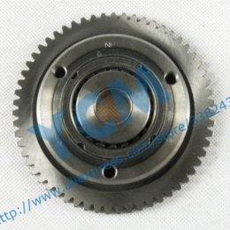 Wholesale Scooter Parts Clutch - Water cooled CF250 CH250 Engine Clutch 172 Startup Disk Starter Gear Scooter Part QDP-CF250 gear backpack