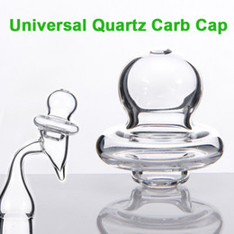 Wholesale Low Priced Caps - 2016 New Arrival! Pacifier Styled Universal Quartz Carb Cap For Domeless Quartz Nail Quartz Banger Nails with low price