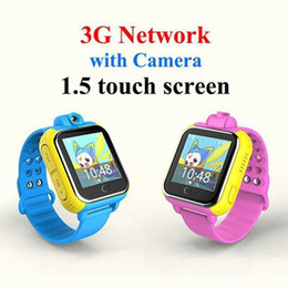 Wholesale Italian Network - Wholesale- 2016 new Q10 3G Network Smart Watch with Touch Screen camera GPS kid child Wristwatch SOS Monitor Tracker Alarm Watch