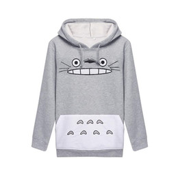 Wholesale Totoro Tshirt - Best Sellers Woman Totoro Cartoon Printing Long Sleeve Even Midnight Set Hoddies Women Shirts Man Sweatshirt Clothes 3d Tshirt Sport Suit