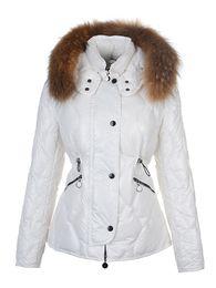Wholesale Women Warm Winter Skirt - Winter Warm Women Down & Parkas outerwear clothes women long design real natural Raccoon fur collar coat Hooded Goose Down jacket