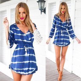 Wholesale Dress Girls Styling - Nice Summer Style WomenVestidos New Elegant Ladies Loose Long Sleeve White Lace Casual Beach Dress Girls Party Dresses