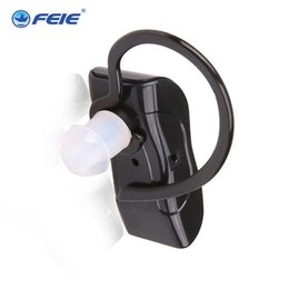 Wholesale Hearing Aid Voice Amplifier - Hearing Aid S-217 Voice Amplifier Rechargeable BluetoothType Adjustable Ear Hook free shipping