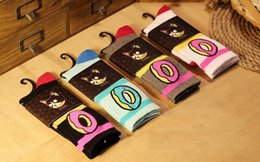 Wholesale Odd Future Donuts - Men Women Ofwgkta Odd Future Donuts Graphic Socks Cotton Long Stockings Sokken Fashion Hiphop Calcetines Meias Socks Sox Free Shipping