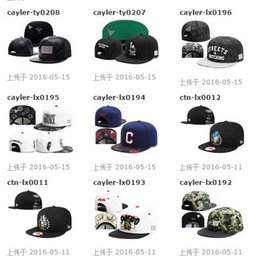 Wholesale Team Snap Backs - 2016 New hot sale nice Cayler & Sons Team Snapbacks hats caps Snap back Baseball hat cap hats caps Mixed Order Size Adjustable