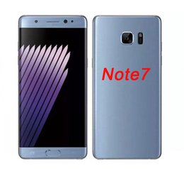 Wholesale Chinese Smartphone Copies - Note 7 edge 1:1 copy goophone Android 6.0 smartphone 5.7 inch 64bit MTK6582 Quad core note7 Mobile cell phones 1GB RAM 16GB ROM Show 4G Lte