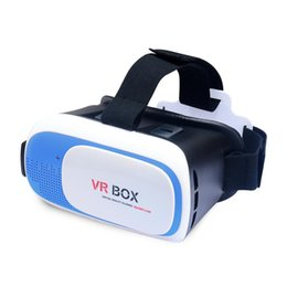 "Wholesale 3d Smart Phones - VR BOX 2.0 5 Colors 3D Smart Virtual&Reality Glasses for 3D Game Movie for 3.5-6.0"" phone Cheap price DHL Free"