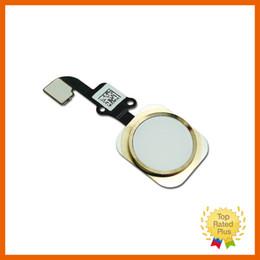 2019 mini telefone celular m5 Novo toque de sensor de id botão home definir chave cabo flex ouro branco preto para iphone 6 plus 5 5s