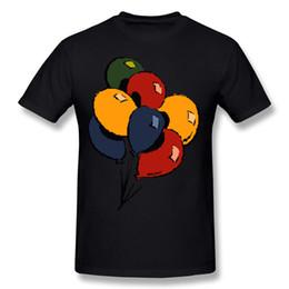 Xl воздушные шары онлайн-Мужские хлопчатобумажные футболки воздушные шары XL-XXXL футболки Homem негабаритных футболка черный новый высокое качество o шеи повседневные рубашки для мужчин