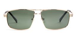Wholesale High End Wholesale Sunglasses - High-end male women's new polarizer sunglasses classic metal fashion sunglasses high definition vision glasses
