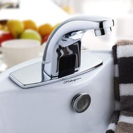 Wholesale Automatic Faucet Copper - Electronic Faucet Automatic Sensor Touchless Automatic Basin Full Copper Tap