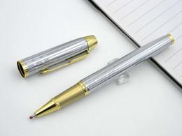 Wholesale 3 pc presente IM Inoxidável Flecha de Ouro Clipe m Nib Parker Roller ball Pen