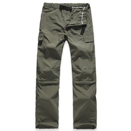 Wholesale Uv Pant Quick Dry Camping - Wholesale-New Brand Outdoor Hiking Pants Men Quick Dry Removable Breathable Uv Protection Hiking Pants For Camping & Hiking Free