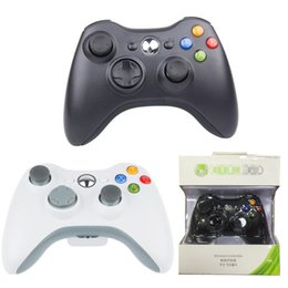 Wholesale Xbox Game Wholesale - 2.4G Wireless Game Controller Xbox 360 Gamepad Controller Joypad For Xbox 360 Andriod PC PS3 With Retail Box