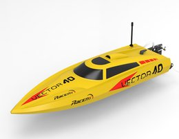 Wholesale H Boat - Wholesale-Volantexrc Vector40 V797-1 Brushless High Speed Racing 40km h RC Boat RTR 2.4GHz F15967  68