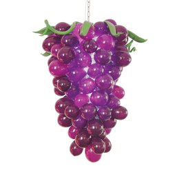 Wholesale Grape Shape Lighting - 1130 Mouth Blown CE UL Borosilicate Murano Glass Dale Chihuly Art Elegant Chandelier Cute Purple Grape Shaped