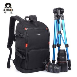 Wholesale Eos Body - Sinpaid Waterproof Ultra Durable Wear resistant Anti-theft Prevent Vibration Travel Camera Bags for Canon EOS Nikon Sony Olympus