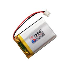 Wholesale Cordless Phone Rechargeable Battery - In the core 1200mAh 603448 Wireless Cordless phone reading machine 3.7V lithium polymer battery 603450