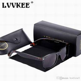 Wholesale Eyeglass Boxes - Fashion Popular Sunglasses Cat Eye Vintage 50mm Brand Sun Glasses Cool for Men Women Mirror glass Eyeglasses with box Online Sale