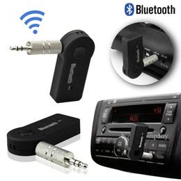 Wholesale speaker receiver - Sound Blutooth Som Bleutooth Mini Wireless Portable Bluetooth Receiver Audio Adapter Music Aux 3.5mm Speaker MIC Player Portatil
