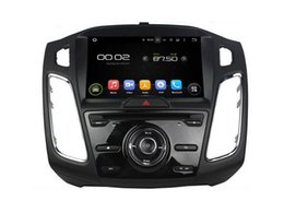 Wholesale Android Dvd Gps Ford - 9'' Quad Core Android 5.1 Car DVD Player For Focus 2015-2016 With Radio Stereo GPS Map Wifi BT