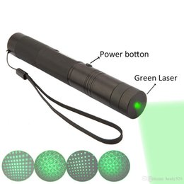 Wholesale Burn Matches Laser - NEW 532nm high power green laser pointers can focus burn match pop balloon+charger gift.