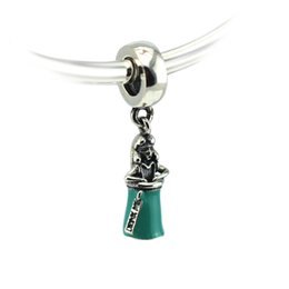 """Wholesale Pandora Bottle Charm - Beads Fit for Pandora bracelets 925 Sterling silver Jewelry DIY Charms """"Alice in a Bottle"""" 2016 Spring new"""