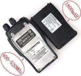 Wholesale Radios Communicators - Wholesale-10pcs New HST Radio walkie talkie UHF 5W 16CH 400-520MHz H500 Portable Ham CB Two Way Radio Communicator Interphone